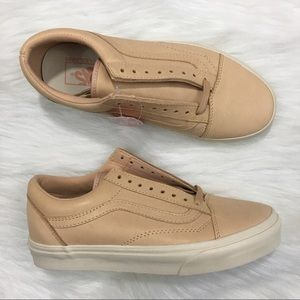 607b0874fd Vans Shoes - Vans Old Skool Veggie Tan Leather Veg NWOB